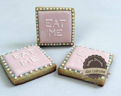 Eat me - Alicia en el país de las maravillas