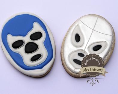 Blue Demon y Santo el enmascarado de plata