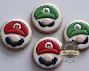 Mario Bros y Luigi