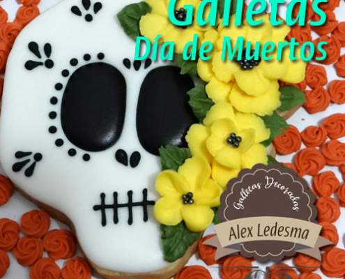 Curso galletas decoradas día de muertos